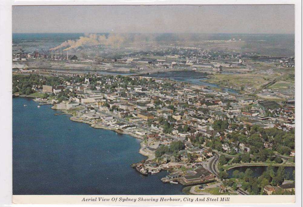 Aerial View of Sydney NS